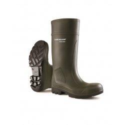 Dunlop C4627933 Purofort Green Safety Wellingtons