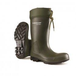 Dunlop C462943VK Purofort Green Safety Wellingtons