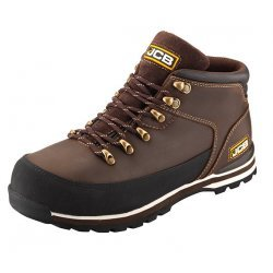 JCB 3CX Brown Safety Boots