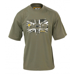 JCB Workwear Heritage Olive T-Shirt