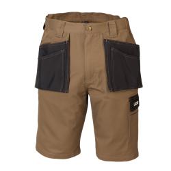 JCB Workwear Keele Work Sand/Black Shorts