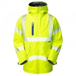 Leo Workwear Marisco High Performance Waterproof Anorak Yellow