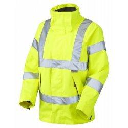 Leo Workwear Rosemoor Class 3 Yellow Ladies Breathable Jacket
