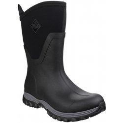 Muck Boots Arctic Sport Mid Wellington Waterproof  Muckboots Ladies Black