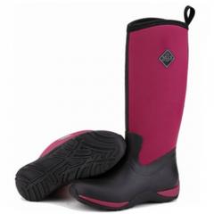 Muck Boots Arctic Adventure Maroon Ladies Wellingtons