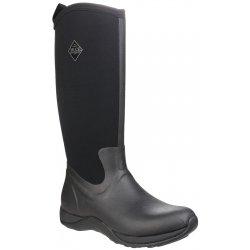 Muck Boots Arctic Adventure Black Ladies Wellingtons
