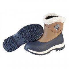 Muck Boots Arctic Apres Navy/Otter Ladies Wellingtons