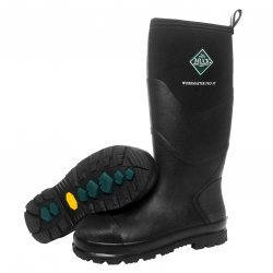 Muck Boots Workmaster Pro Black Steel Toe Cap Wellingtons