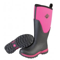 Muck Boots Arctic Sport Tall Ladies Pink Wellingtons