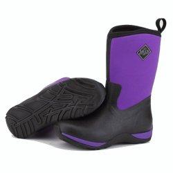 Muck Boots Arctic Weekend  Ladies Purple Wellingtons