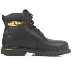 CAT Holton S3 Black Safety Boots