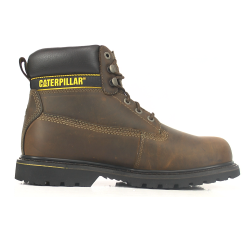 CAT Holton S3 Brown Safety Boots