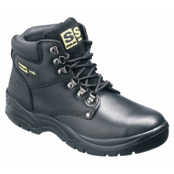 Sterling SS806SM Safety Boots With Steel Toe Cap And Mid Sole