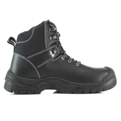Toe Guard Flash Safety Boots with Steel Toe Caps and Midsole