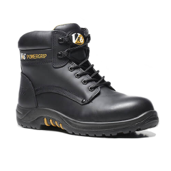 V12 VR600 Bison Waxy Derby Safety Boots