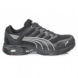 Puma Fuse Motion Black Safety Trainers