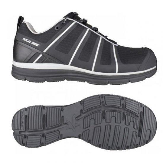 Solid Gear Evolution Black Safety Shoes