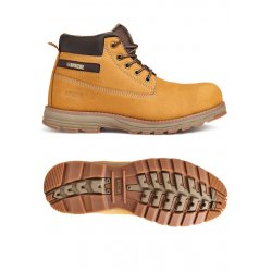 Apache Flyweight Wheat Safety Boots