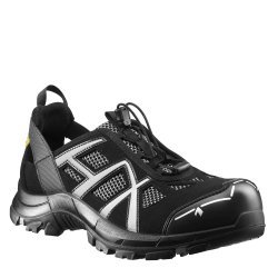 HAIX Black Eagle Black/White ESD Safety Shoes 610005