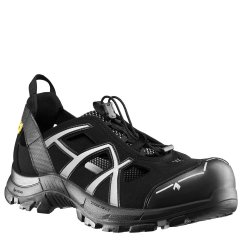 HAIX Black Eagle Black/White ESD Safety Shoes 610006