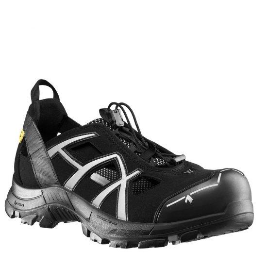 HAIX Black Eagle Black/White ESD Safety Shoes 610006