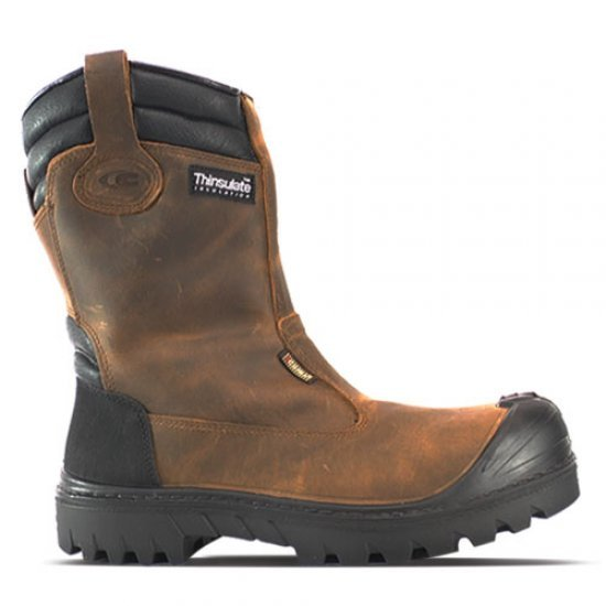 Cofra Baranof UK Thinsulate Lined Rigger Boots