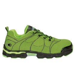 Cofra Beach Soccer Lime Safety Trainers