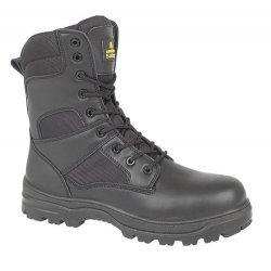Amblers FS009C Black Metal Free Hi-Leg Safety Boots