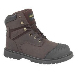 Amblers FS10 Brown Safety Boots
