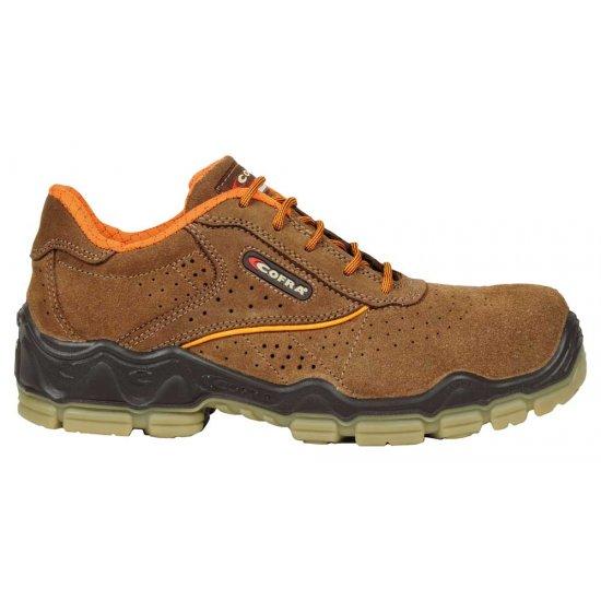 Cofra Morandi Brown Safety Shoes