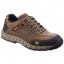 CAT Streamline Leather Safety Trainers