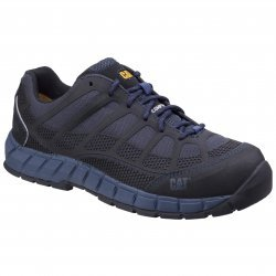 CAT Streamline Blue Nite Safety Trainers