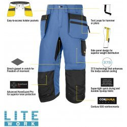 Snickers 6103 LiteWork 37.5®Pirate Holster Trousers