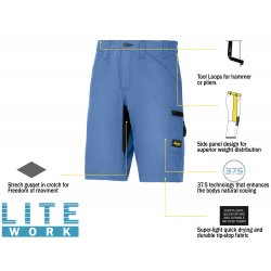 Snickers 6102 LiteWork 37.5® Shorts