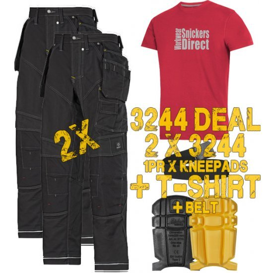 Snickers 3244 FlexiWork Trousers