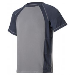 Snickers 2501 Grey/Navy AVS Wicking T-Shirt