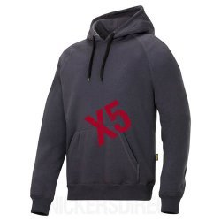 Snickers 2800 FlexiWork Classic Hoodie x5