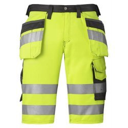 Snickers 3033 Class 1 Hi Vis Holster Pocket Shorts
