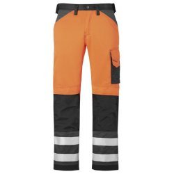 Snickers 3333 Class 2 Hi Vis Trousers