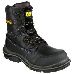CAT Doffer Black Safety Boots