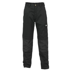 JCB Max Trousers Black Long Leg