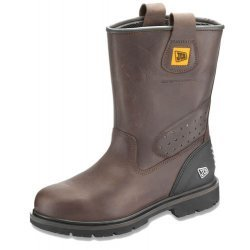 JCB Trackpro Brown Safety Boots