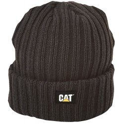 CAT C1443 Rib Watch Beanie, CAT Beanie