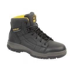 CAT Dimen Black Safety Boots
