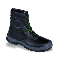 Fortec 25053-02 Alaska Black Warm Lined Tie Boot
