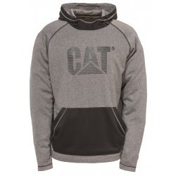CAT Dark Heather Grey Endurance Hoodie