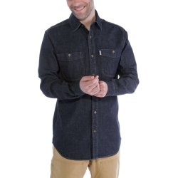 Carhartt L/S Rugged Flex Patten Denim Shirt