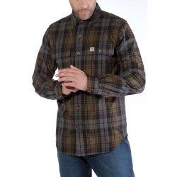 Carhartt L/S Hubbard Slim Fit Flannel Shirt
