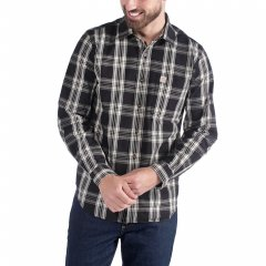 Carhartt L/S Essential Open Collar Shirt Plaid