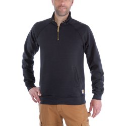 Carhartt Quarter-Zip Mock-Neck Sweatshirt